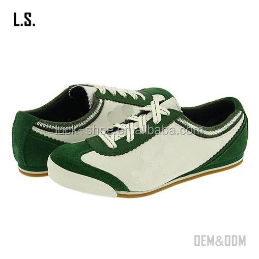 shoes green customizing shoes sneakers leather running Men color zqF4nC4X