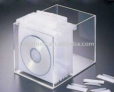 hoge kwaliteit aangepast verschillende acryl cd opbergbox fz stb1167 opbergdozen bakken. Black Bedroom Furniture Sets. Home Design Ideas