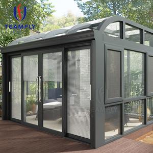 High quality sunroom aluminium agricultural glass house
