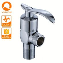 Sanitary ware 90 degree water flow control new products brass angle valve