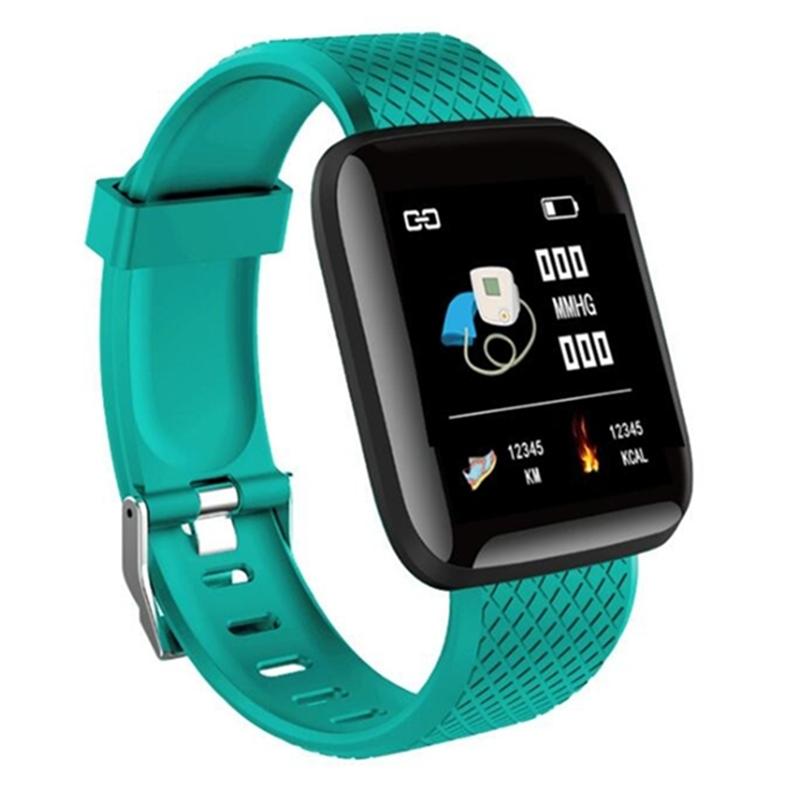 FancyTech 116plus pedometer heart rate BT 4.0 smart bracelet reminder sports bracelet фото