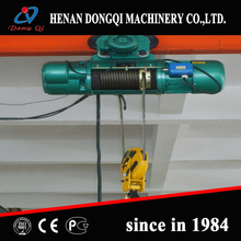 1ton Electric Wire Rope Hoist for Single Girder Overhead Crane