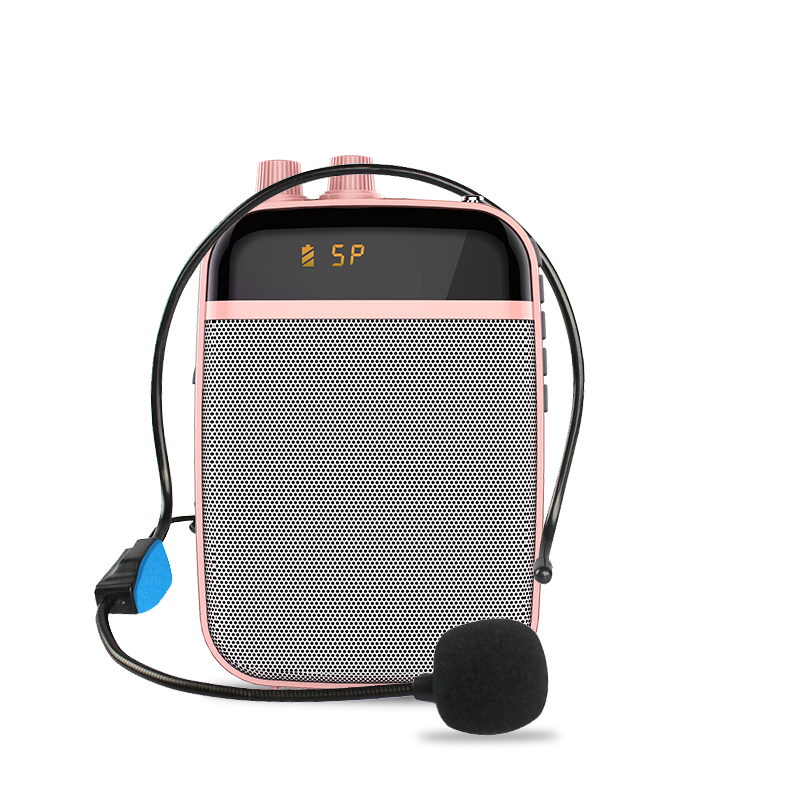 Alibaba.com / Portable Teaching Digital Mini Voice Amplifier Built In Audio Recorder Amplifier Speaker Professional Wired Headset Microphone
