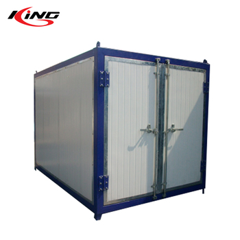 gas heat powder coating production powder curing oven baking oven