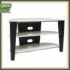 metal chrome and glass fashionable and luxury lcd stainless steel tv stand