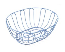 metal circular wire basket