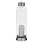Novedades Glass Water Bottle Safe for Alkaline Hydrogen Water can Request Sample