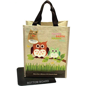 Eco Super Strong Laminated Mini PP Woven Reusable Shopping Tote Bag