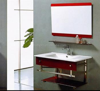 Simple Évier Mural Petite Taille Salle De Bain Étagère En Verre - Buy  Lavabo En Verre,Lavabo En Verre De Salle De Bain,Étagère En Verre Simple  Évier ...