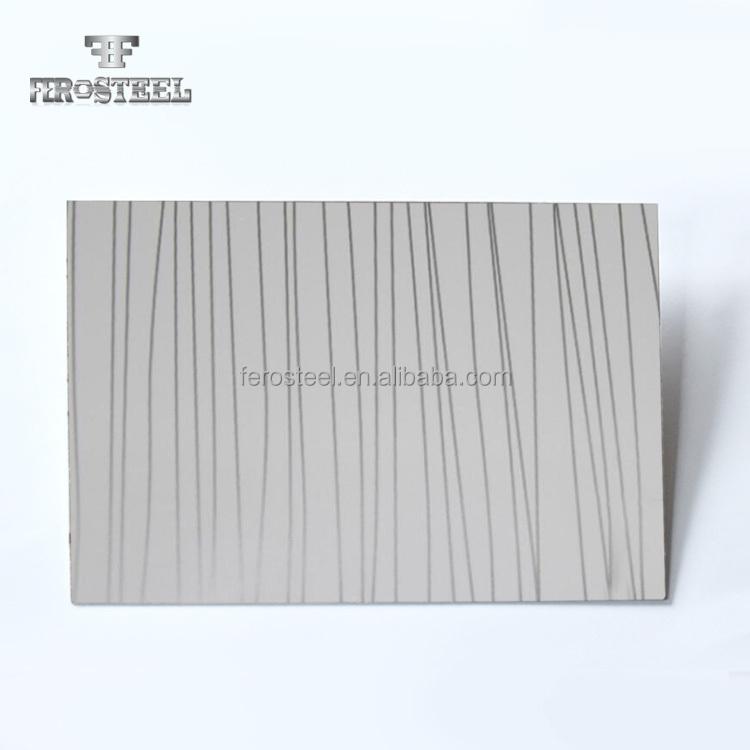 Pvc Laminated Stainless Steel Sheet