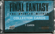 Final Fantasy - The Spirit Within - one Booster - US-Version [Trading Card]