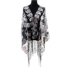 Multi color women long shawl evening lace spring elegant scarf