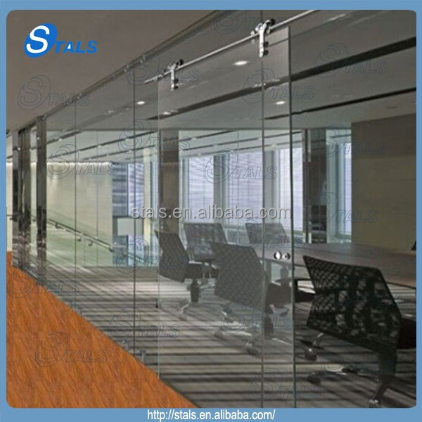 Office Glass Partition Wall Sliding Glass Door   Buy Office Glass Partition  Wall Sliding Glass Door,Commercial Glass Door,Large Sliding Glass Doors  Interior ...