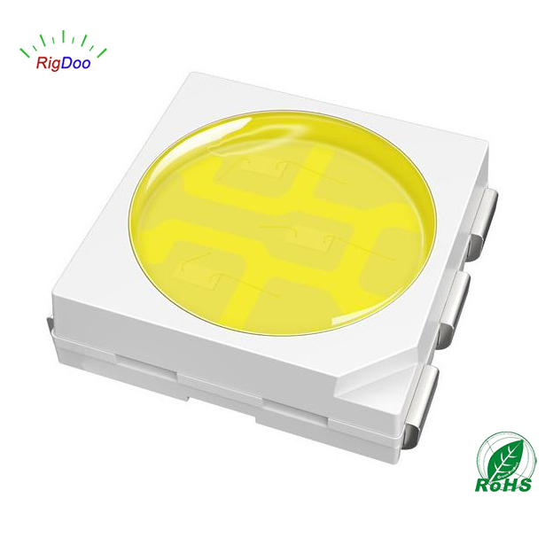 Ultra Bright PLCC6 SMD Diode White 5050 LED