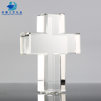 High Quality Factory Wholesale K9 Crystal Glass Cross