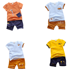 little girl clothing sets 2019 baby boys kids boutique newborn toddler summer fashion cotton clothes