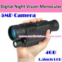 Digital monocular binoculars with 5MP high resolution