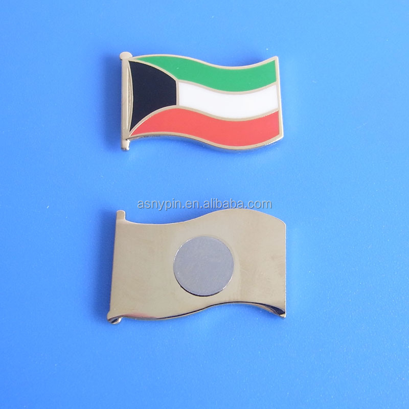 enamel Kuwait flag pin badge for 2017 Kuwait National Day