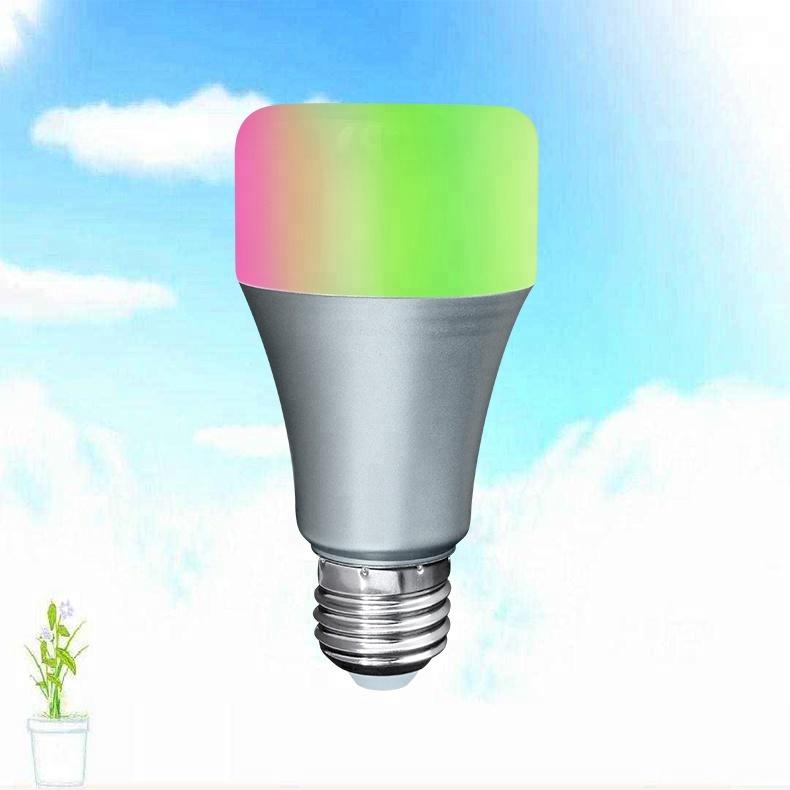 Amazon Alexa Echo Dimmer RGBW LED Light Bulb 6W 9W E26 E27 Connector Smart WiFi Bulb