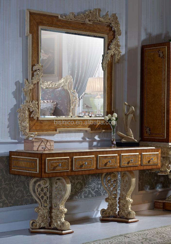 Adesivo Decorativo Infantil De Parede ~ Aparador de madera tallada de estilo barroco de lujo bisini, Europea royal reposteria de tocador