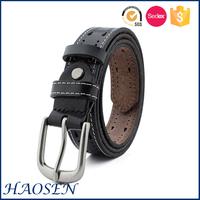 Fashionable British Casual Style Unique Leather Belt
