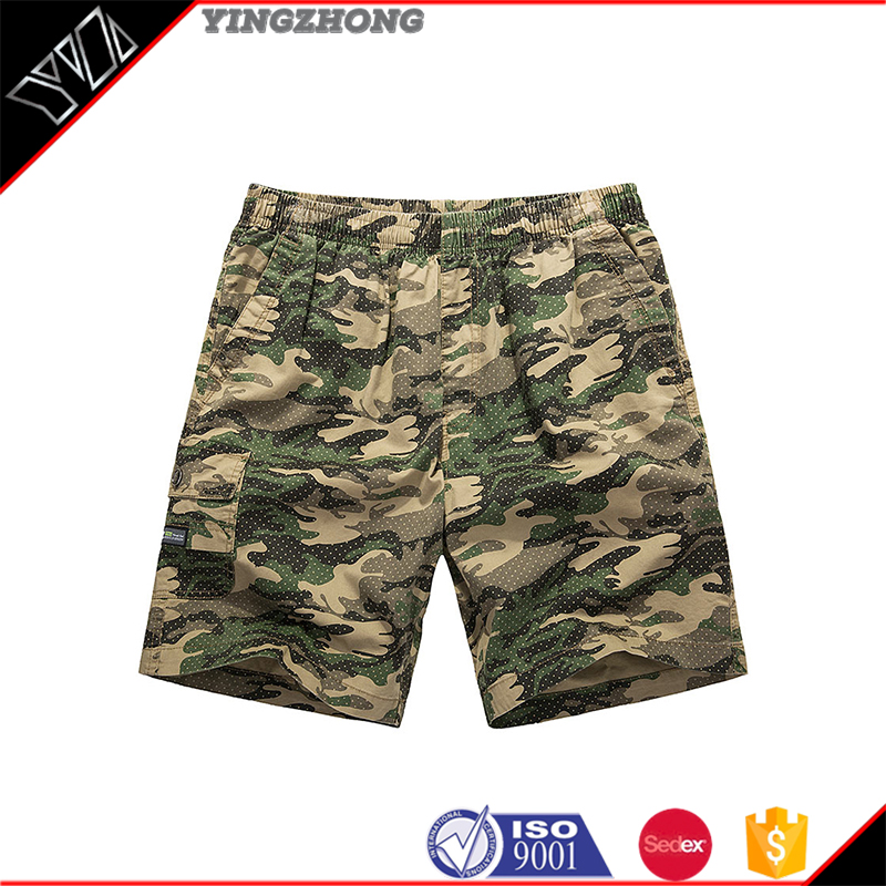 Fashion2016 Plus size mid-waist short mens printed bloomer pants