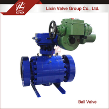 Factory supply ANSI F304L F316L electric forged steel ball valve