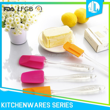 Eco-friendly various factory directly price silicon spatula set
