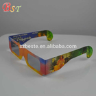 Cardboard 3d glasses circular polarized paper 3d glasses