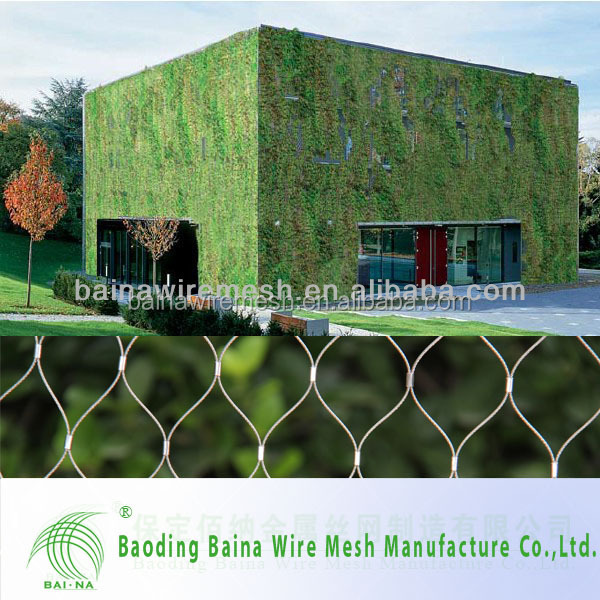 2014 Hot Sale Architectural Surface Plant Climbing Net/zoo Mesh ...