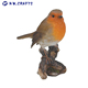 Vivid Arts British Birds Robin Resin Craft Birds Ornament for Home and Garden Decoration