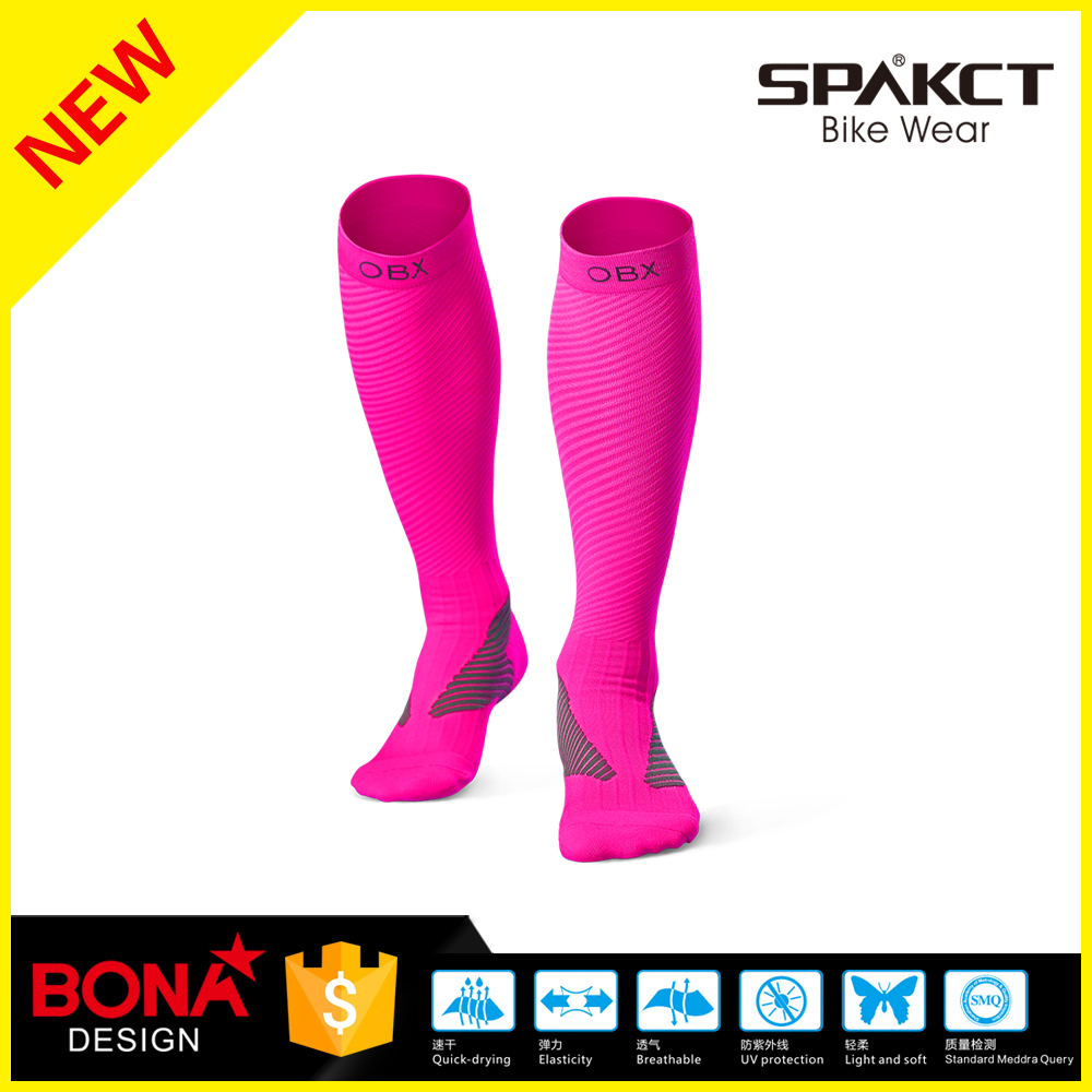 wholesale hot sale hiqh quality professional running compression socks, compression hosiery with great price