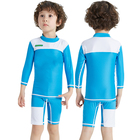 Neoprene Kids Wetsuit with Long Sleeves and Shorts for Diving Swimming Surfing