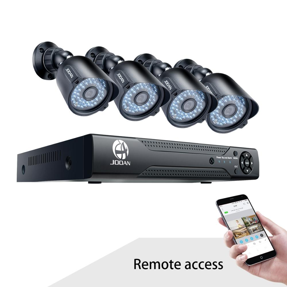 Hot Selling CCTV Security Camera System 4CH 1080N HD Analog Camera 8CH 5-IN-1 DVR Night Vision