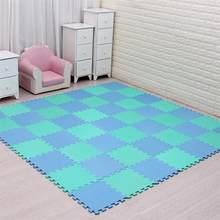 Meiqicool детский коврик-пазл из вспененного этилвинилацетата/18 или 24/Лот, блокировка плитки для упражнений, напольный ковер для детей, каждый 29 ...(Китай)