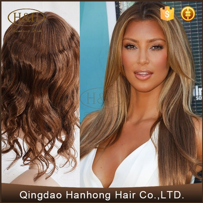 High Quality Raw Unprocessed Woman Toupee 12