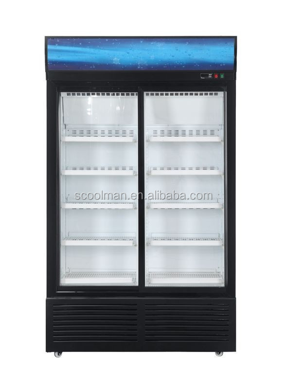 Double Sliding Door Refrigerator With Locks   Buy Double Door Refrigerator,Refrigerator  Sliding Glass Doors,Double Door Sliding Door Refrigerator Locks ...