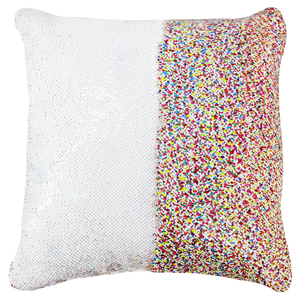 Two Side Magic Mermaid Glitter Reversible Flip Shiny Print Sequin Pillow Cases Sequin Pillow Sublimation Blank