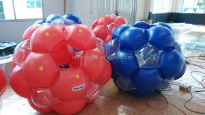 wholesale high quality giant inflatable rolling bal/roll inside inflatable balll for kids grass use