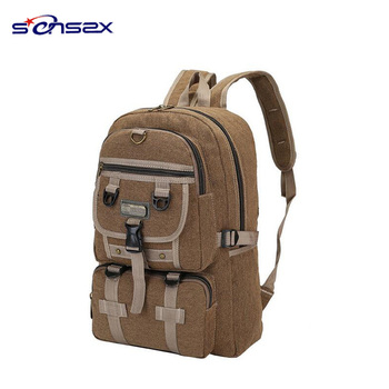a430ee22eaa8 china suppliers wholesale school bag cotton canvas vintage mens backpack