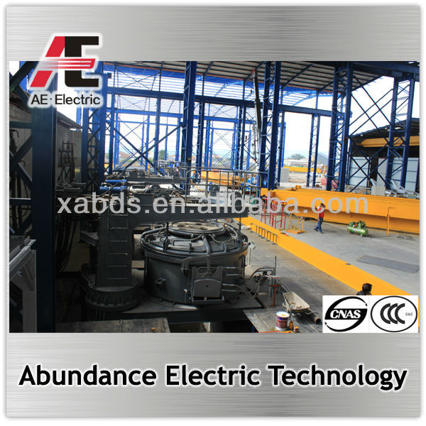 20% energy saving steel srcap and DRI melting electric arc furnace