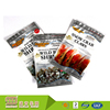 Resealable Aluminum Foil Reach Food Grade Nut/Sea Food Packing Use 3 Side Sealed Pouch With Zipper