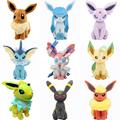 2016 Anime Pikachu Plush Toys 7 87 20CM Umbreon Eevee Espeon Jolteon Vaporeon Flareon Glaceon Leafeon