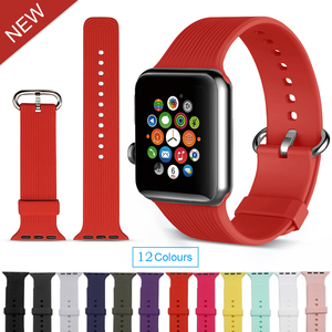 cf471c2cf64b6d Sport Band for apple watch silicone band for apple watch wrist band 42mm