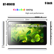 best 9 inch android cheapest mid tablet pc with 8gb/16gb nano flash