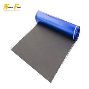 Eco-friendly environment Heat Insulation easy step cork rubber underlay