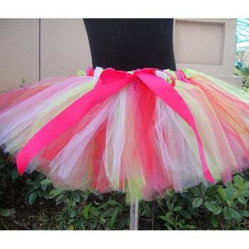df22c76ef0 2017 Nuevo Modelo niñas falda de bailarina niños tutú de la falda 2017 falda  del tutú