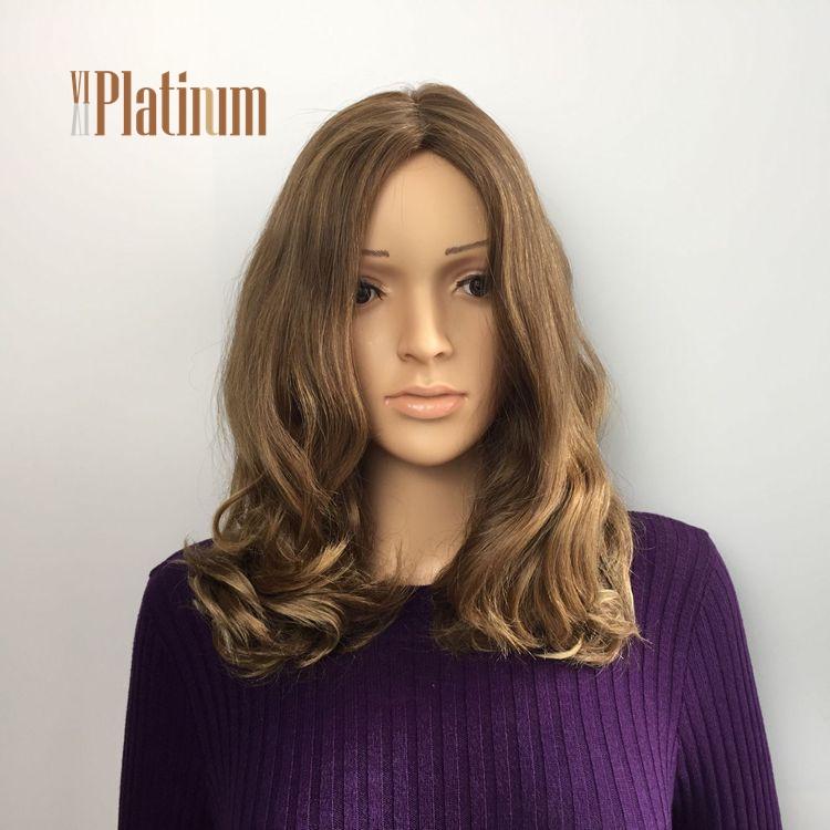 Wholesale Double Drawn 100% Virgin Russian Human Hair Jewish Wigs