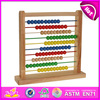 2015 New study wooden abacus toy for kids,popular educational wooden abacus for children,hot sale wooden toy for baby W12A013