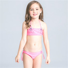 Pink Swimwear Top Selling Swimsuit Girls Bathing Suit Children Thong Bikini Hot Kids Sexy Bikini